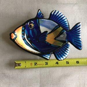 Hawaiian 🌺 fish trinket dish 🐠